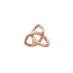 14Ct Rose Gold Celtic Knot End Attachment