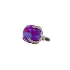 Halo Collection Sleepy Lavender Opal Bead Attachment