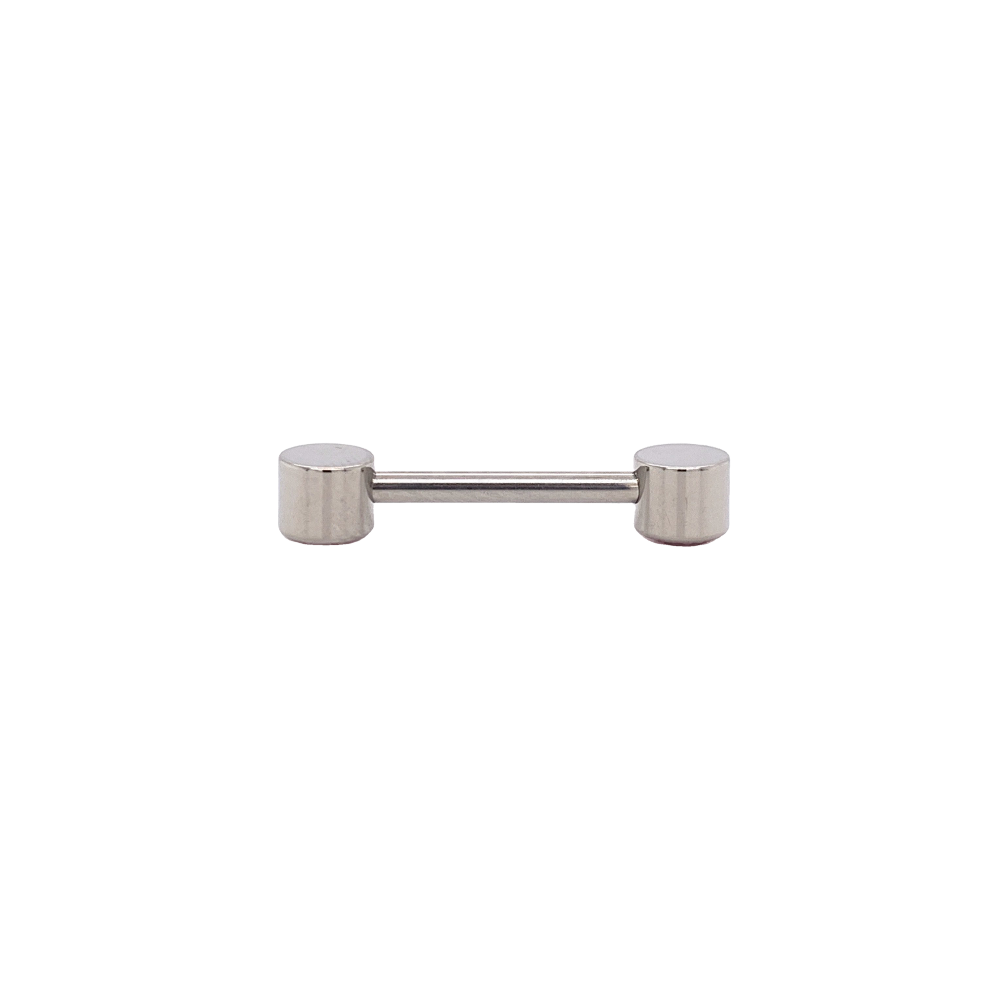 Forward Facing Cubic Zircon Straight Barbell - Isha Body Jewellery
