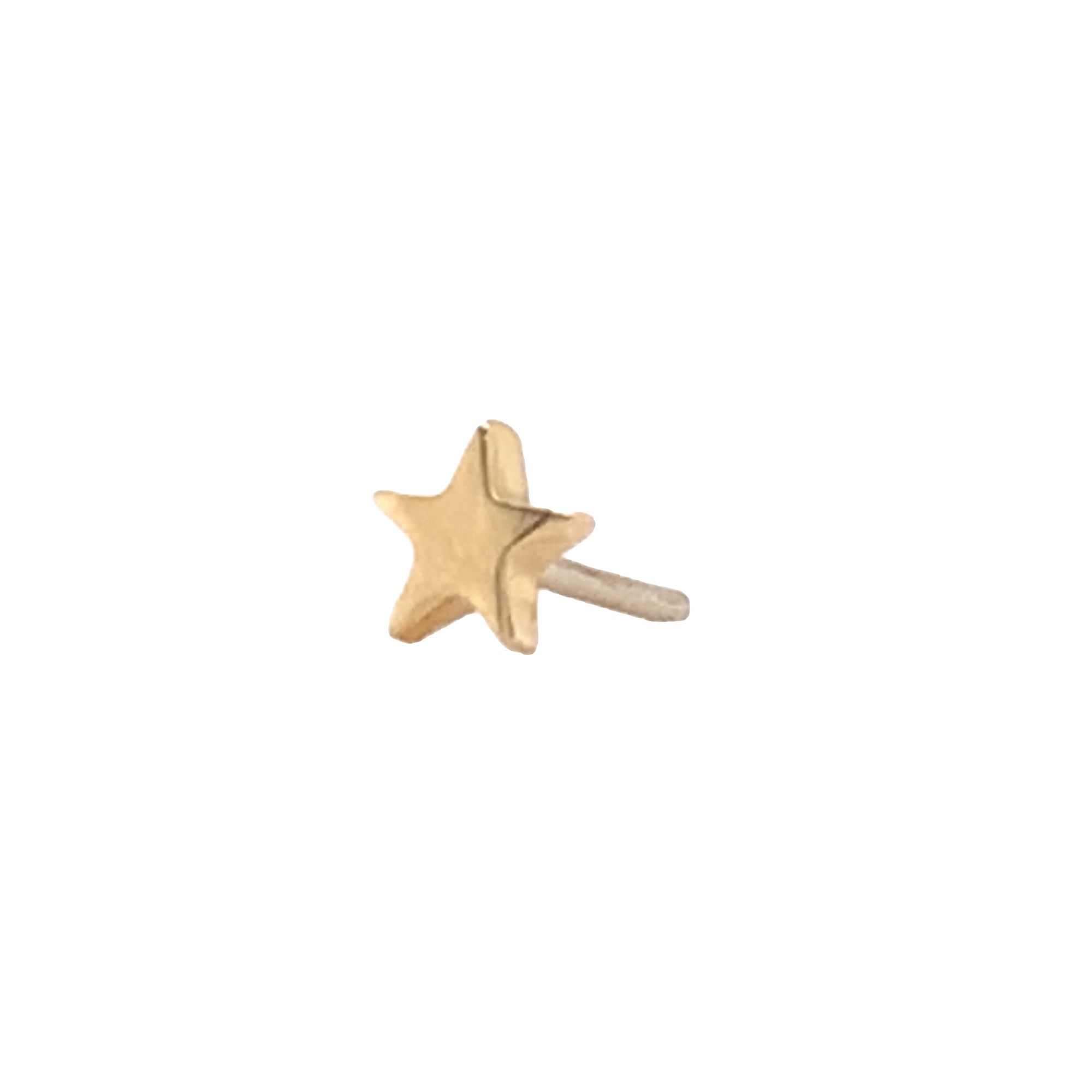 14Ct Gold Star End Attachment