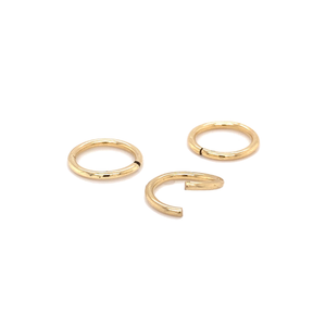 14Ct Gold Seam Ring