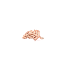 14Ct Rose Gold Feather Quill Attachment