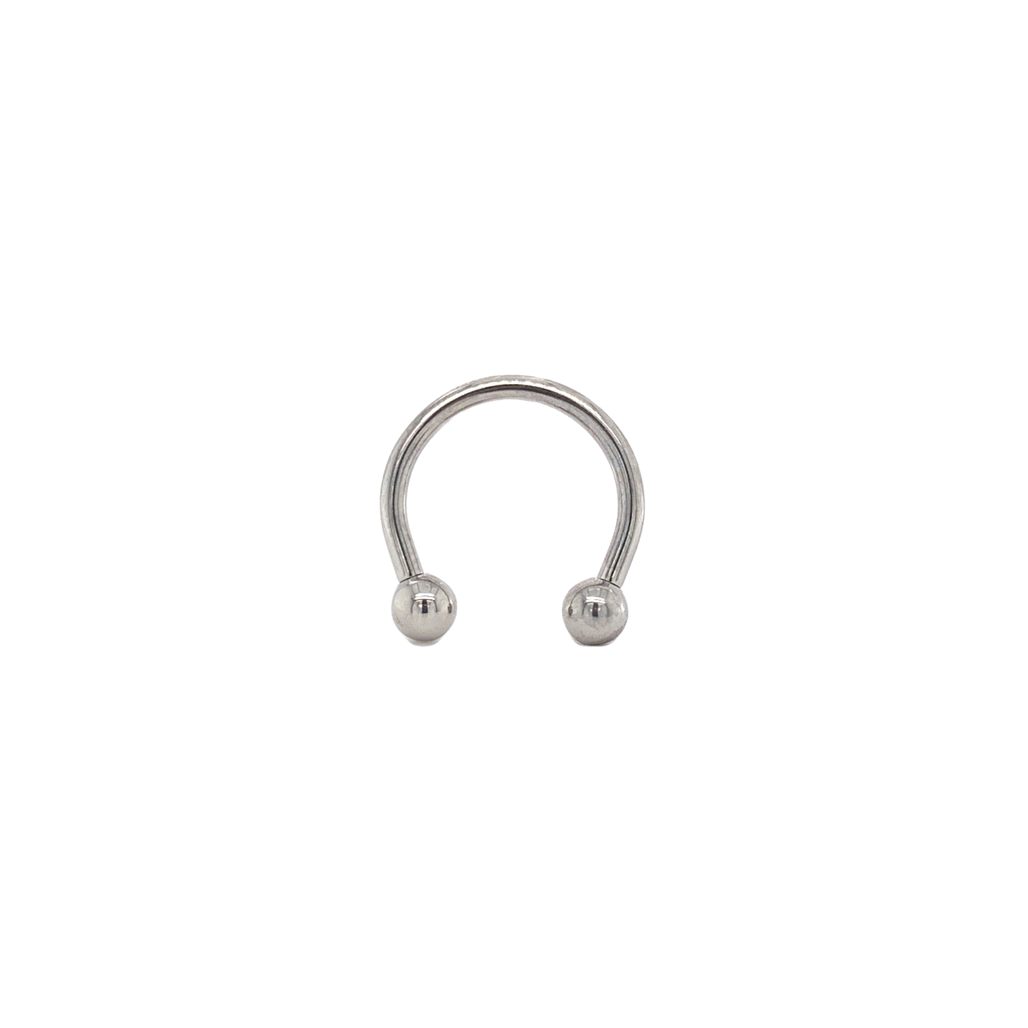 Classic Ball Circular Barbell - Isha Body Jewellery