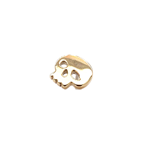 14Ct Gold Skull End Attachment