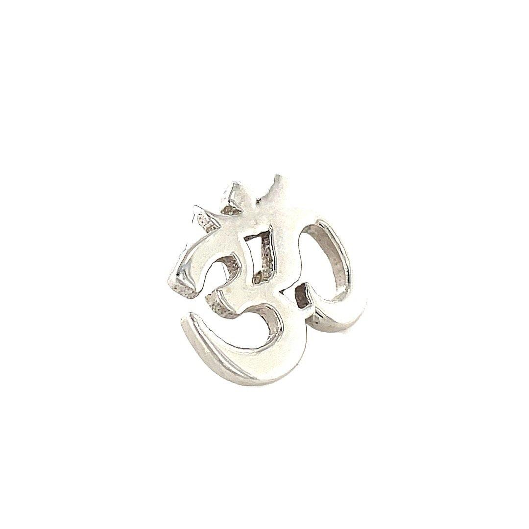 BVLA 14ct White Gold Ohm End