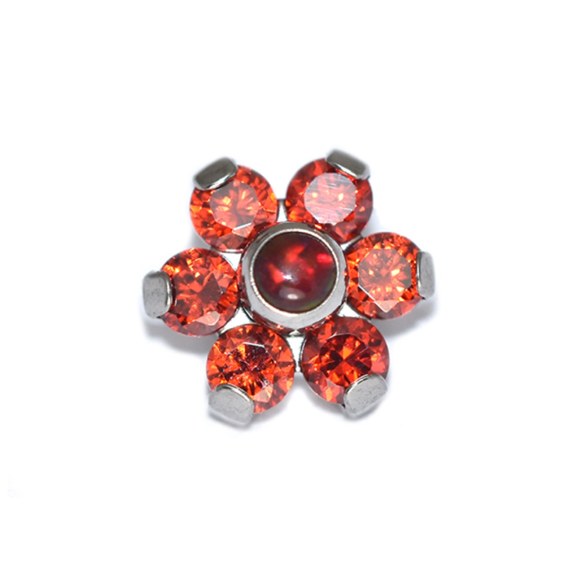 Pinchys Red Queen Prong Set Flower Attachment
