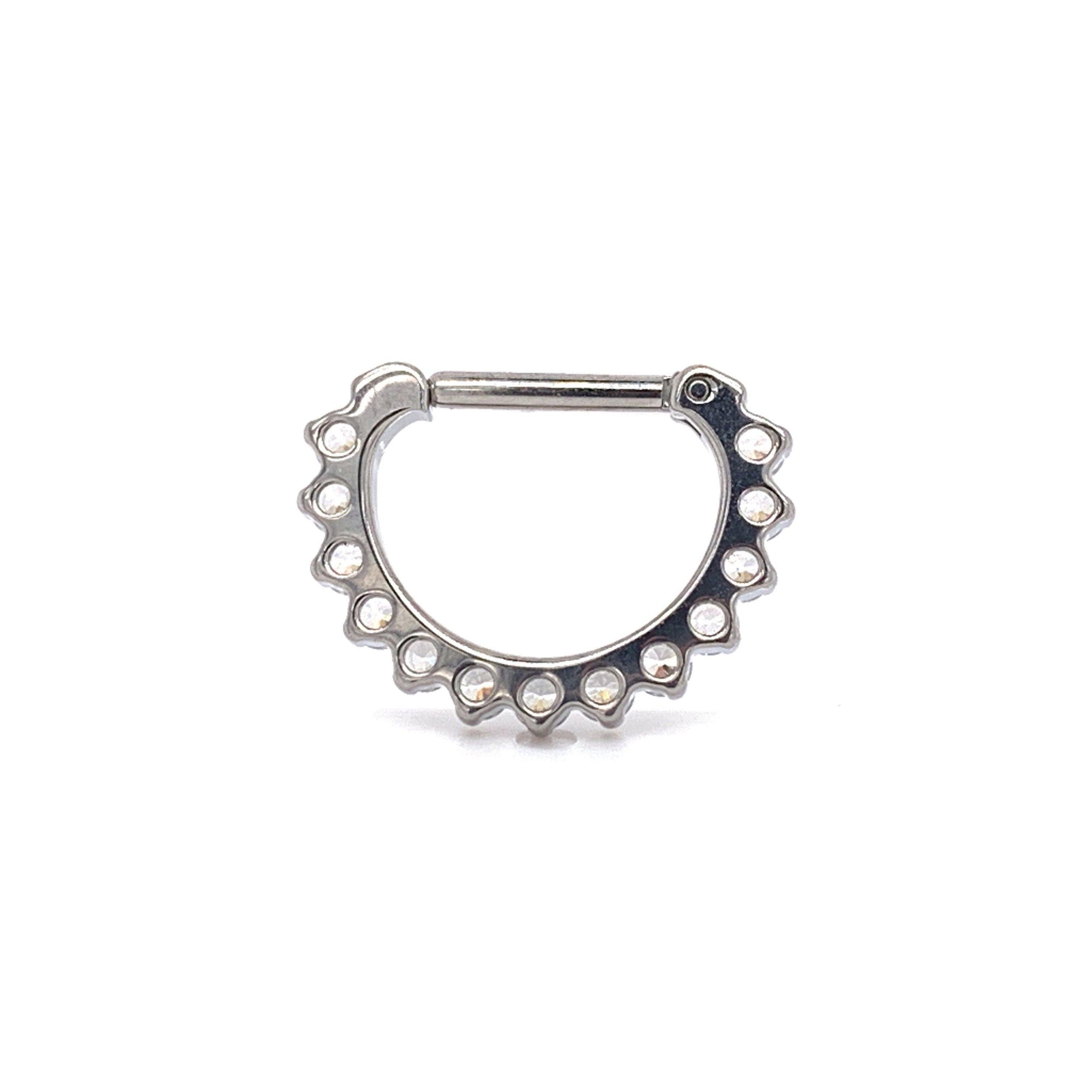 Industrial Strength Odyssey Prong Set Faceted Gem Clicker