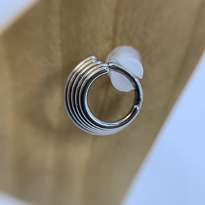 Stacked Hinged Segment Ring - Isha Body Jewellery