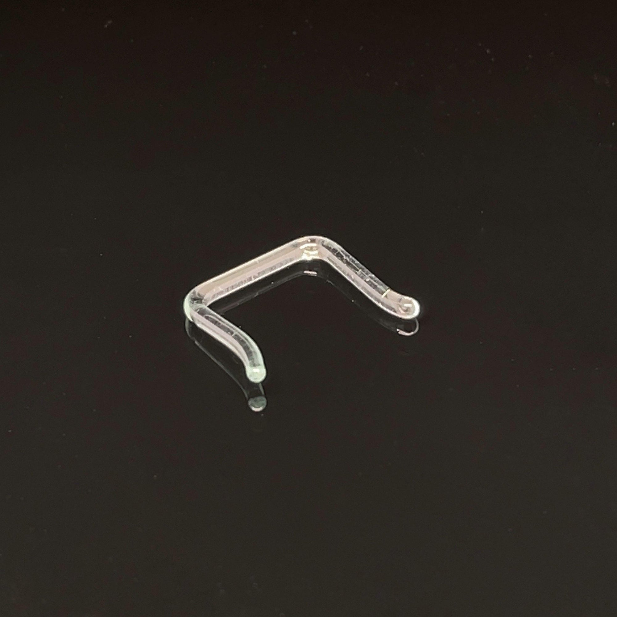 Glass Septum Staple Retainer