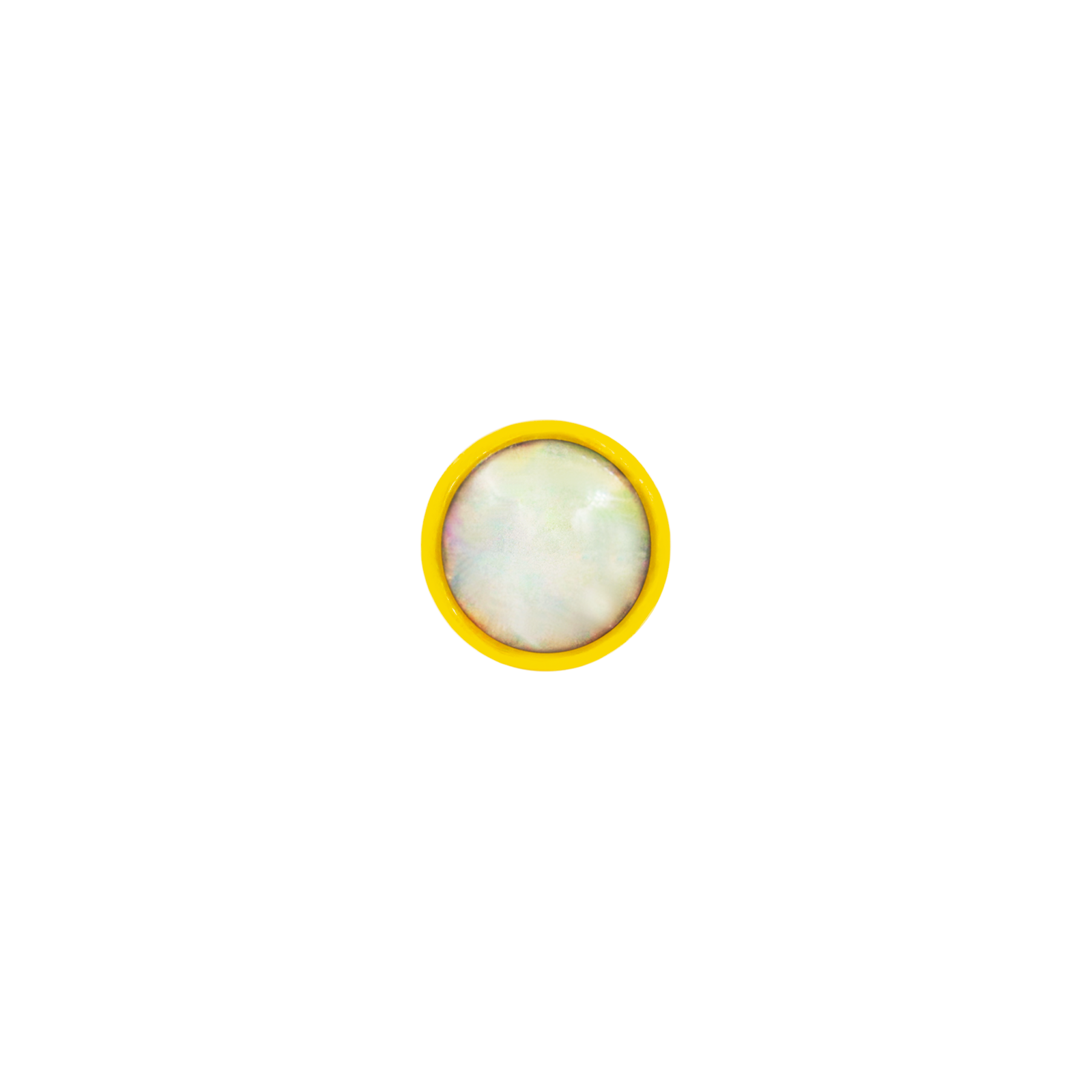 14ct Gold Bezel Set Opal Cup End