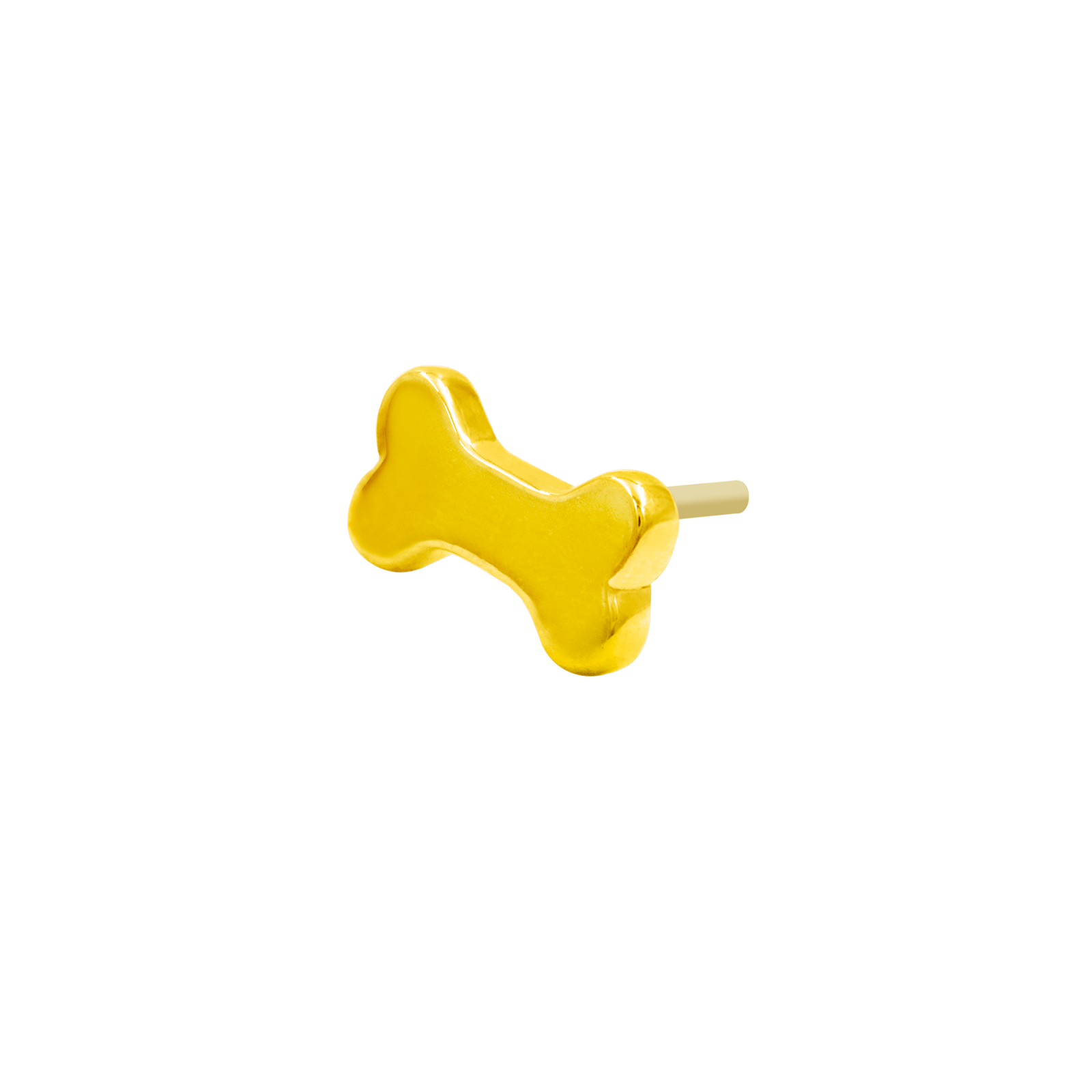 14ct Gold Dog Bone