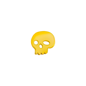 14ct Gold Skull End - Isha Body Jewellery