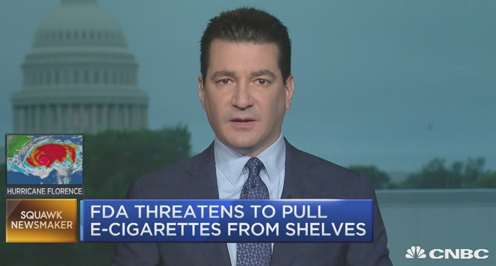 Squawk Box Alert:  Is Gottlieb implementing a vaping flavor ban in 60 days?