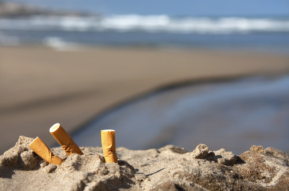New report: Cigarette butts – not plastic straws – worst ocean pollutant ever