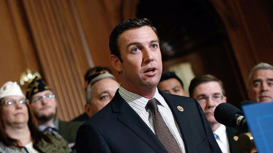 Trump Transition: 'Vaping Congressman' Duncan Hunter on short list for cabinet post