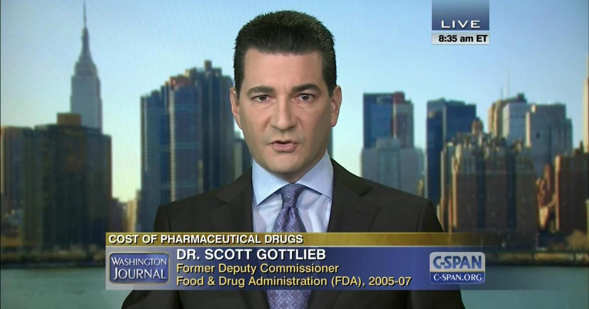 Scott Gottlieb: Trump's FDA pick has strong ties to Big Pharma and GlaxoSmithKline