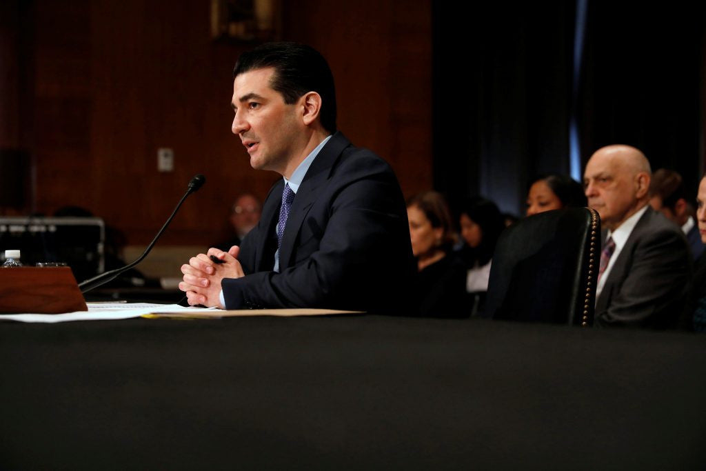 FDA Confirmation Hearings: Gottlieb recuses himself from e-cig debate for one year