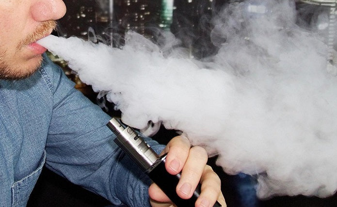 Study shows reduced air pollution in households that vape
