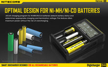Load image into Gallery viewer, Nitecore D4 Universal Battery Charger Intellicharger 4-Bay LCD Display