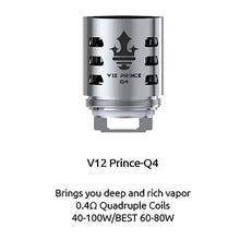 Load image into Gallery viewer, SMOK TFV12 Prince Coils Replacement Cores (3 pack)