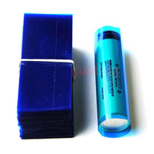 Load image into Gallery viewer, 5-Pack 18650 Battery Wrap Heat Shrink Sleeve Tubes for Re-Wrapping Batteries