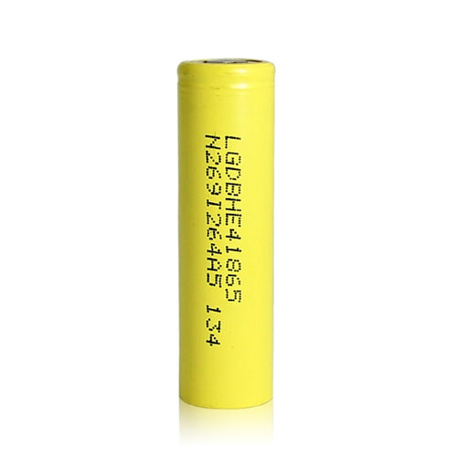 LG HE4 18650 2500mAh 20A Yellow Battery