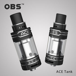 OBS ACE Tank Atomizer (ceramic coil, side-filling)