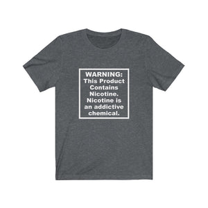FDA Tobacco Warning T-Shirt (Dark)
