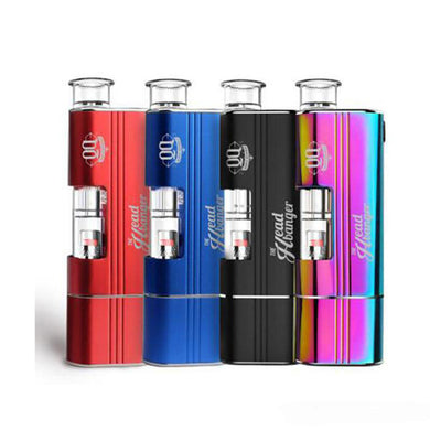 Airis Headbanger Multi-Vaporizer Glass Water Bubbler Dab 'n' Dip Kit