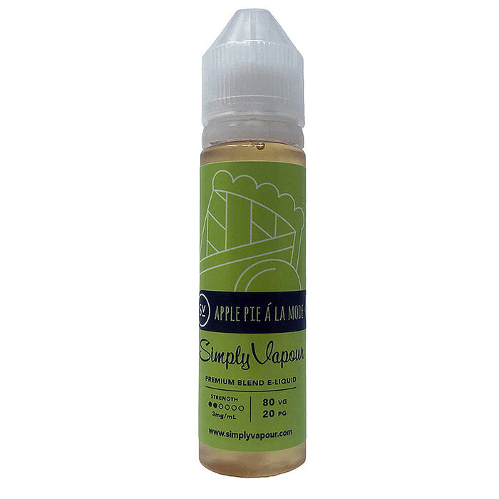 Apple Pie á la Mode E-Juice by Simply Vapour Liquids (60ml)