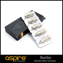 Load image into Gallery viewer, Aspire Nautilus Replacement BVC Atomizer Coil Heads (5 pack)