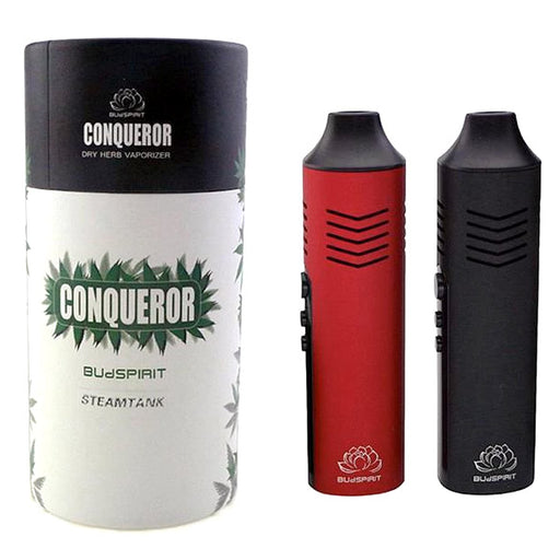 Conqueror Portable Vaporizer for Dry Herb (Non-Combustible)
