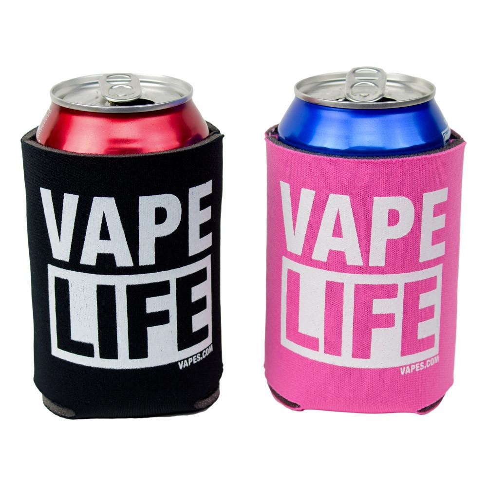 Vape Life Can Cooler Koozie (12 colors)