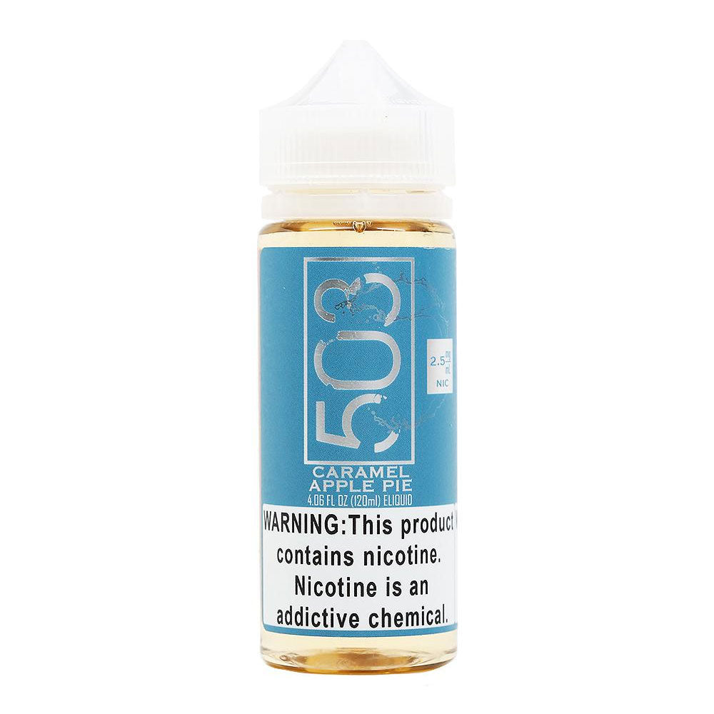 Caramel Apple Pie Vape Juice by 503 e-Liquid (120ml)