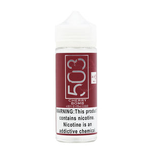 Cherry Bomb E-Juice by 503 e-Liquid (120ml)