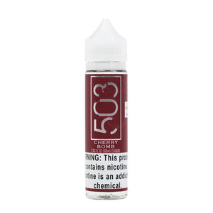 Cherry Bomb E-Juice by 503 e-Liquid (60ml)
