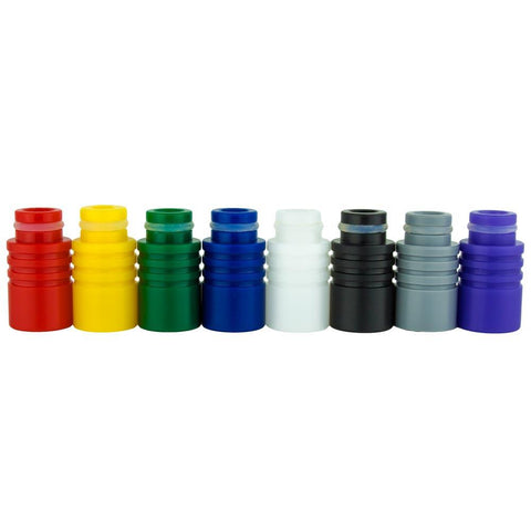 Robo Ribs Wide Bore Resin Drip Tips (510)