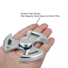 Load image into Gallery viewer, Tri Ninja Fidget Spinner Aluminum Alloy Metal (3 colors available)