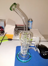 Load image into Gallery viewer, Barrel Bubbler Glass PercolatorOil Rig Recycler