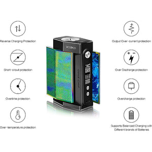 VOOPOO TOO Mod Kit 180W TC Box Mod + Uforce Tank Atomizer 3.5ml