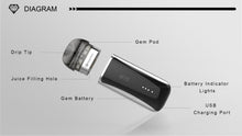 Load image into Gallery viewer, Kanger GEM Pod Starter Kit Vape (2ml, 500mAh)