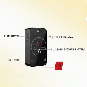 Kanger Pollex 200W TC Box Mod Touch Screen Battery (3500mAh)