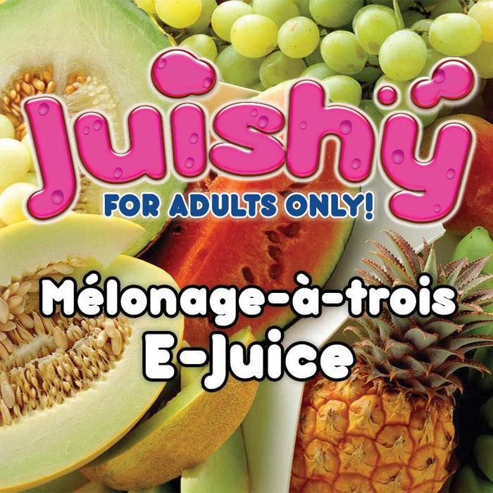 Mélonage-à-trois E-Liquid by Juishy E-Juice (100ml)