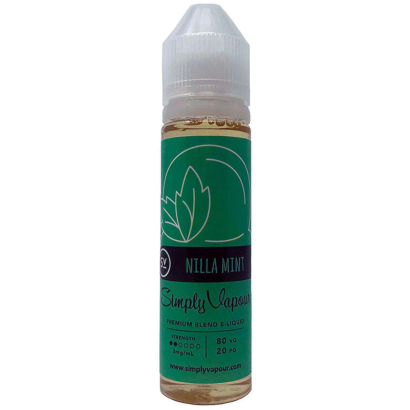 Nilla Mint E-Juice by Simply Vapour Liquids (60ml)