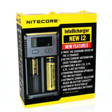 Nitecore i2 V2 Intellicharger Battery Charger (New Features)