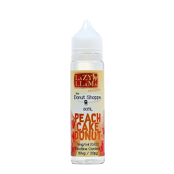Peach Cake Donut E-Juice by Lazy Llama E-Liquid (60ml)