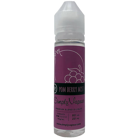 Pom Bery Mist E-Juice by Simply Vapour Liquids (60ml)
