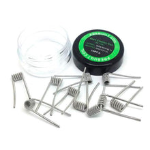 Load image into Gallery viewer, Prebuilt Alien Clapton Coils / Fused Clapton Premade Coils (10 pieces)