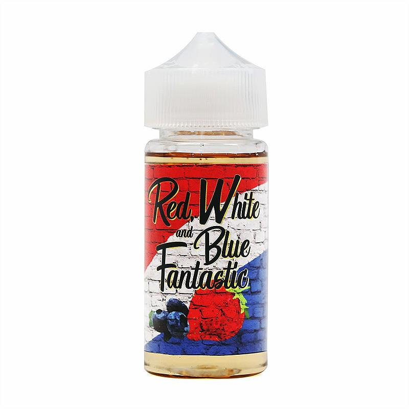 Red, White & Blue Fantastic - Berries & Cream E-Juice of Thee Fantastic (100ml)