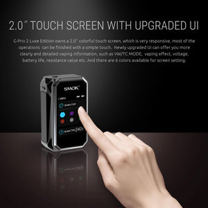 SMOK G-Priv 2 Touch Screen Box Mod 230W TC LUXE Edition